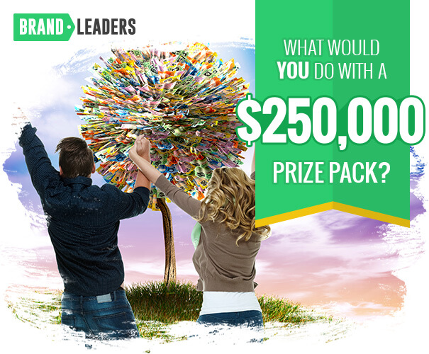 Win a $250,000 Prize Pack