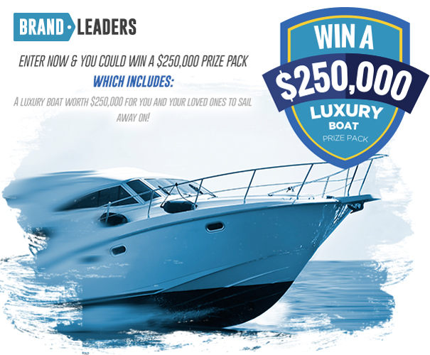 $250K Luxury Boat Prize Pack