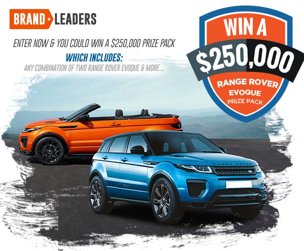 $250K Range Rover Prize Pack