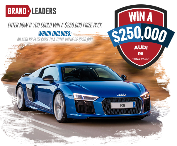 Win a $250,000 AUDI R8 Prize Pack