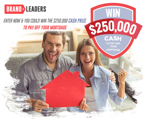 Win a $250,000 Mortgage Prize Pack
