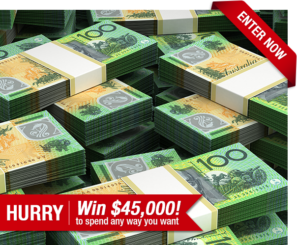 Win an Epic $45,000 Cash Prize