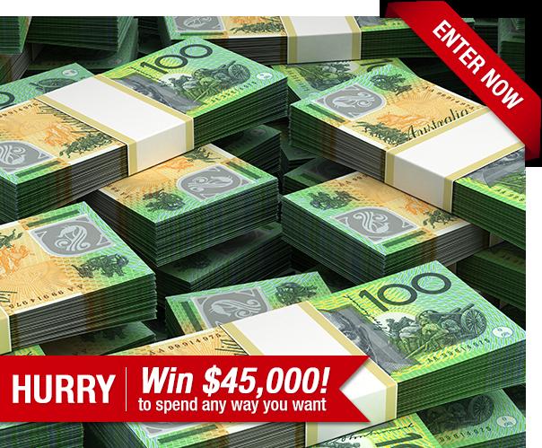 Win an Epic $45,000 Cash Prize